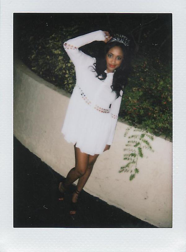 Style Stalker Blanc Dress