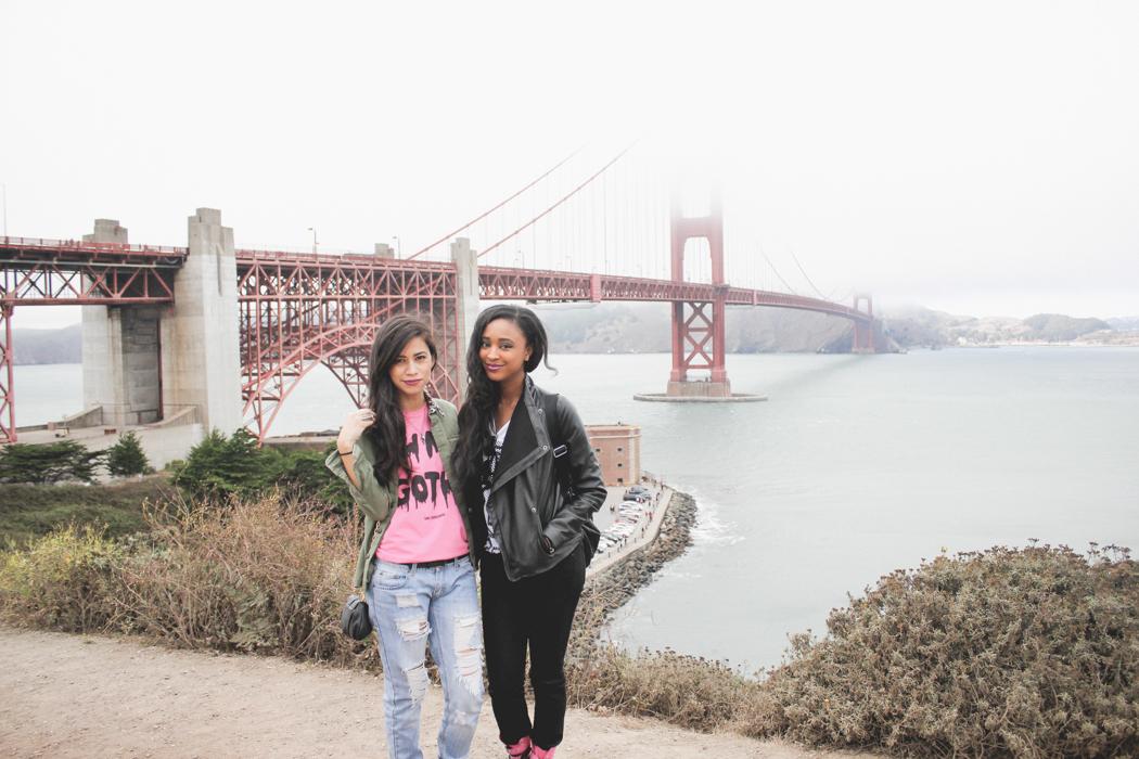 Ria Michelle & Pretty Stellar in San Francisco