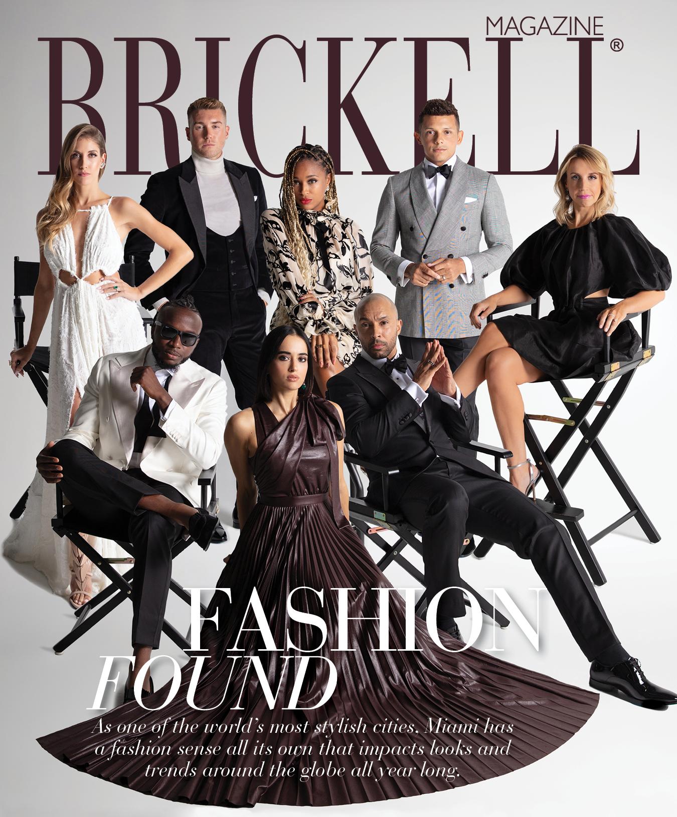 Brickell Magazine November 2020 cover star Miami Blogger Ria Michelle