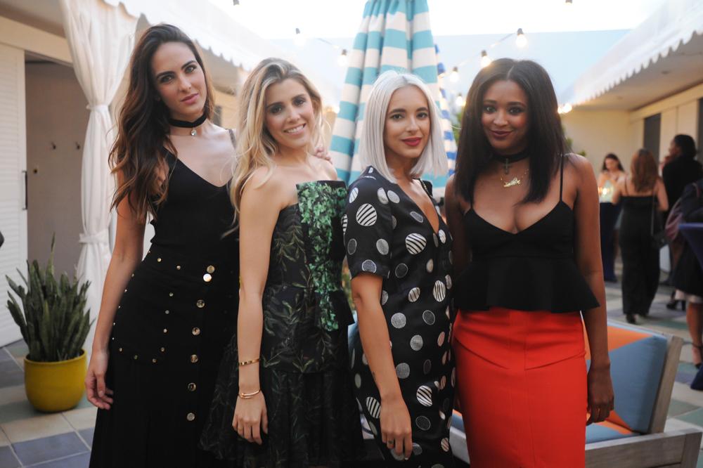 Daniela Botero, Michelle Chwoschtschonsky, Jana Rose Carrero, & Ria Michelle