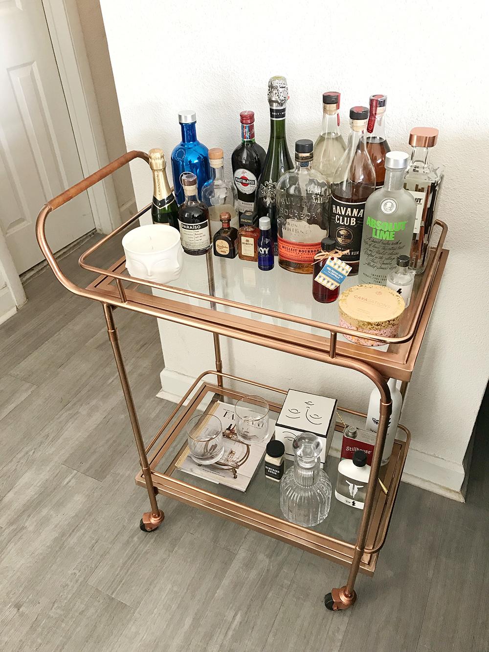 wikibuy bar cart