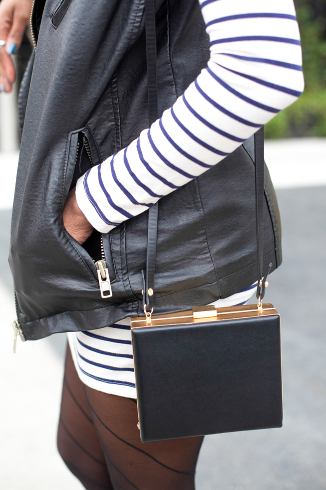 Zara Box Clutch