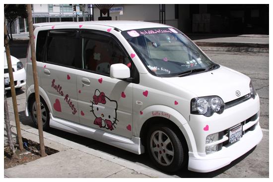 Hello Kitty Car San Francisco
