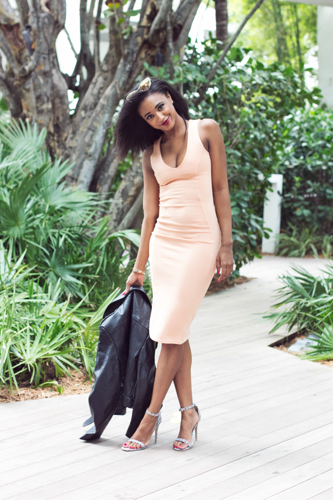 Miami-Style-Blogger-Ribbed-Bodycon-Midi-Dress
