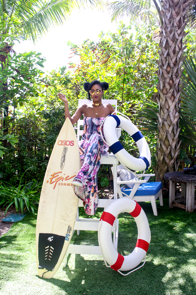 Ria Michelle ASOS #EpicSummer at Soho Beach House-Miami-Fashion-Blog