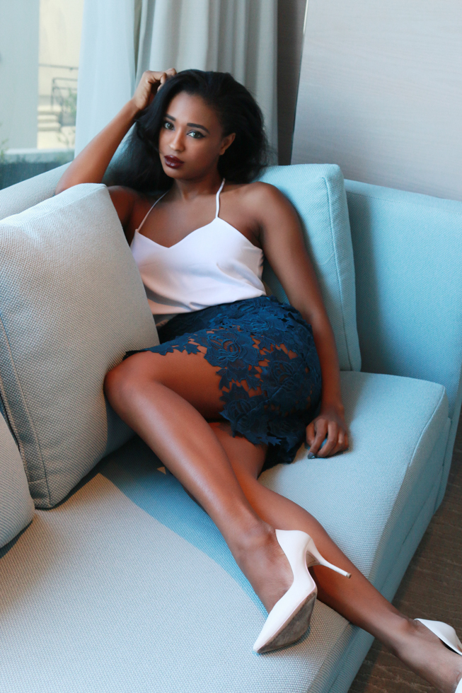Ria-Michelle-Miami-Fashion-Blogger-House-Of-Holland-Embroidered-Lace-Pencil-Skirt