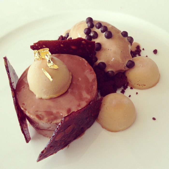 Valrhona Milk Chocolate Mousse Dessert