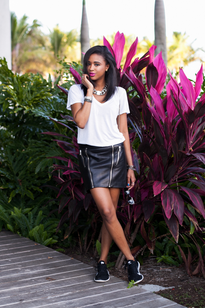 mason-by-michelle-mason-zippered-leather-mini-skirt