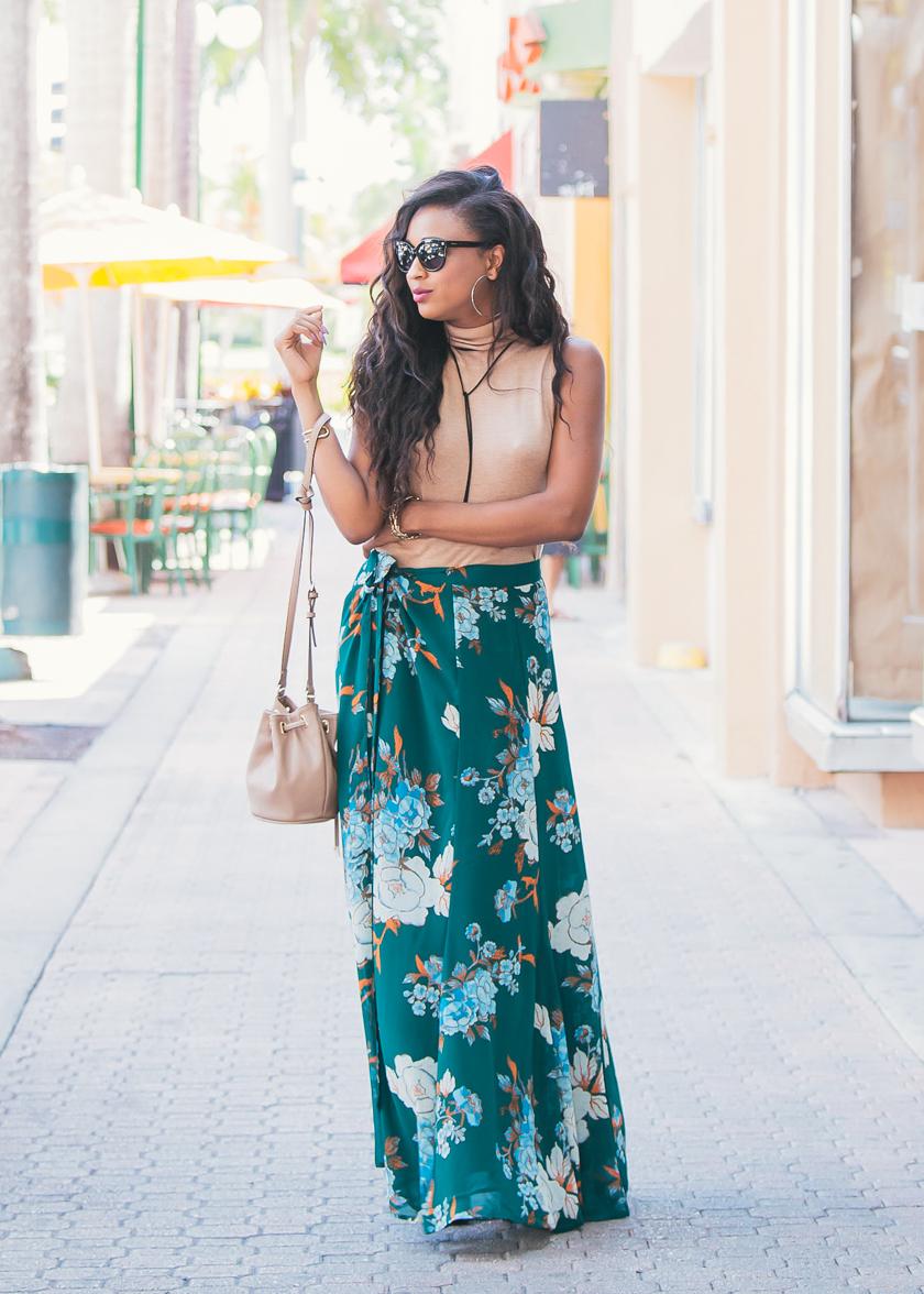 miami-fashion-blogger-floral-maxi-skirt-eva-mendes