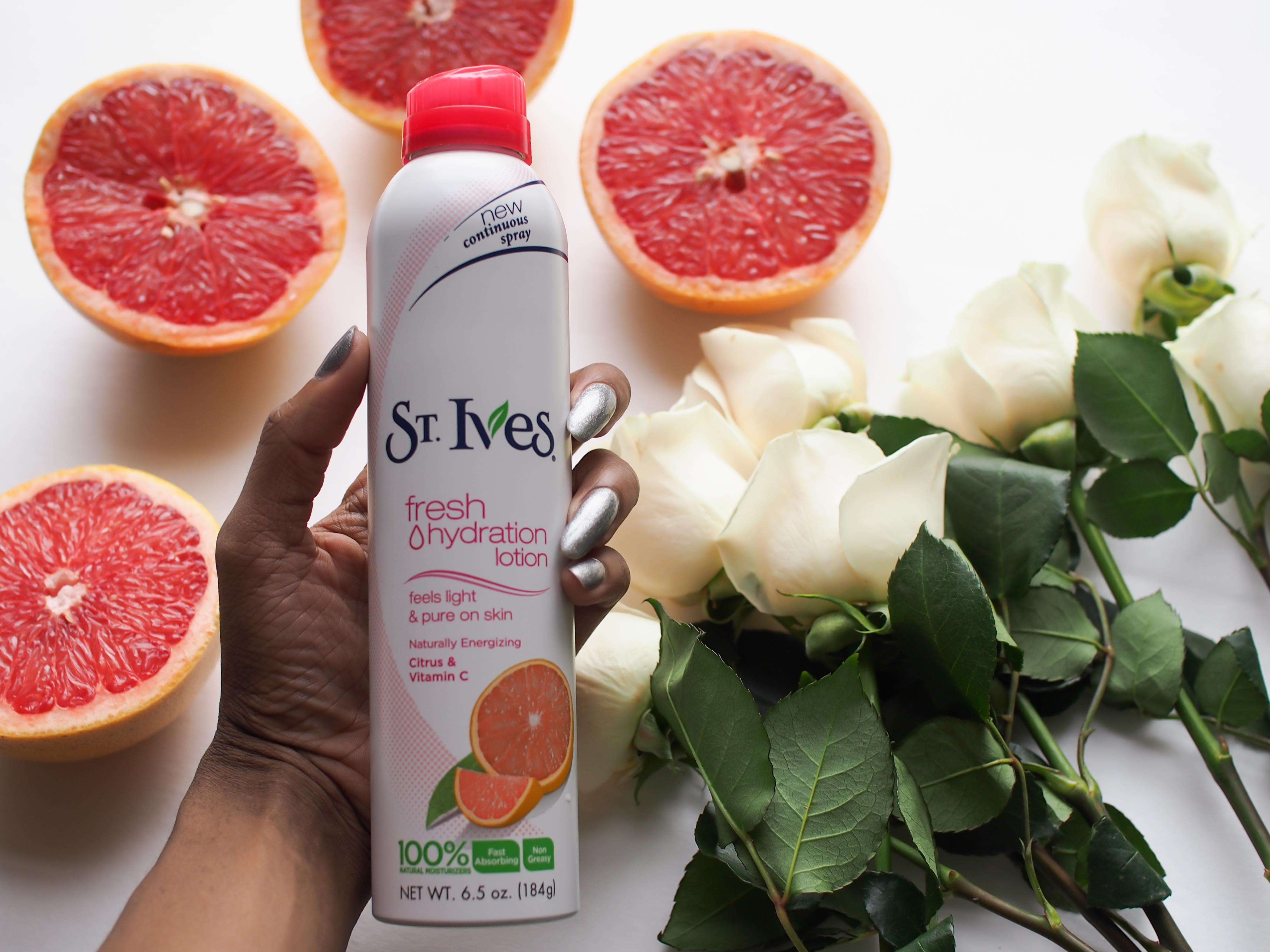 st-ives-fresh-hydration-lotion-spray=miami-beauty-blog